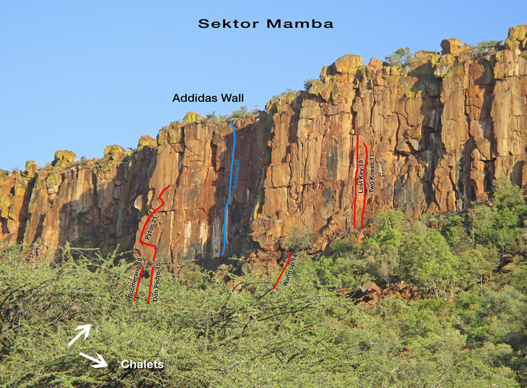 Waterberg Sektor Mamba - photographer R. Graf (Windhuk)
